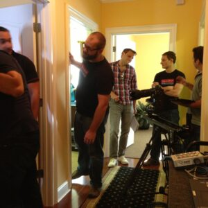 Setting up for the Shoot