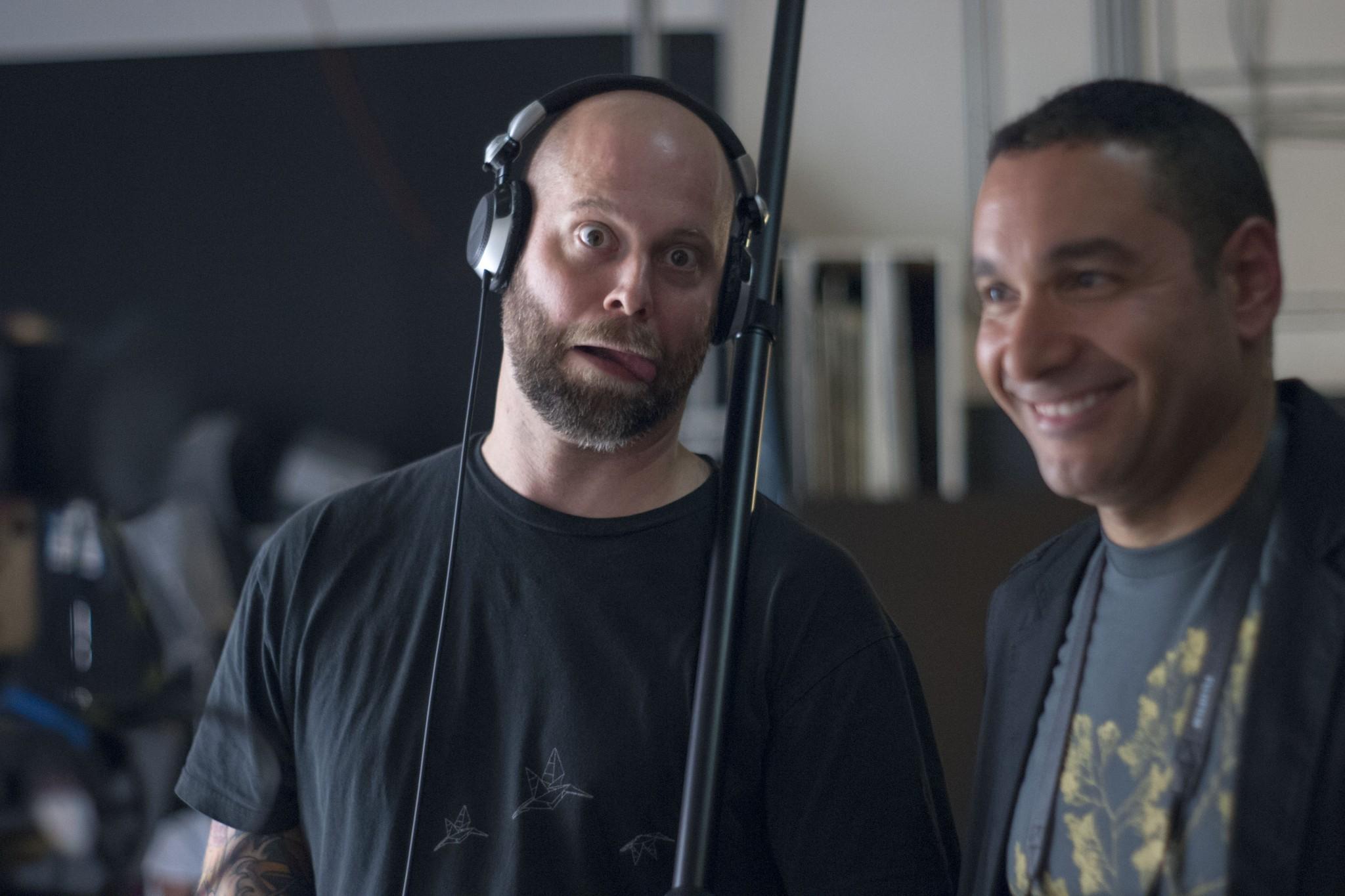 Chris and Matthew