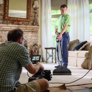Zerorez Video Production Shoot 01