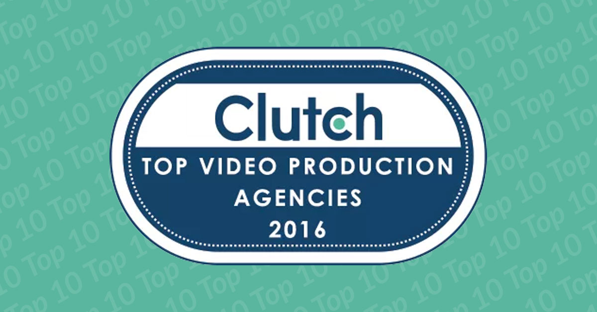 The DVI Group named 2016 top video production agency by Clutch.