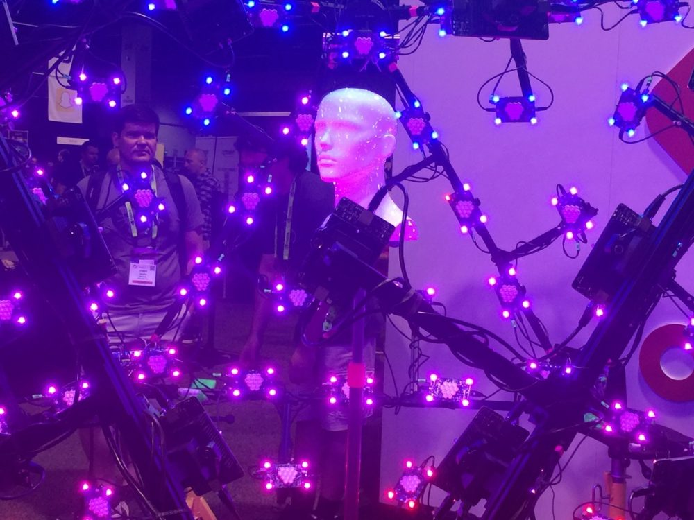 LightStage at Siggraph 2016