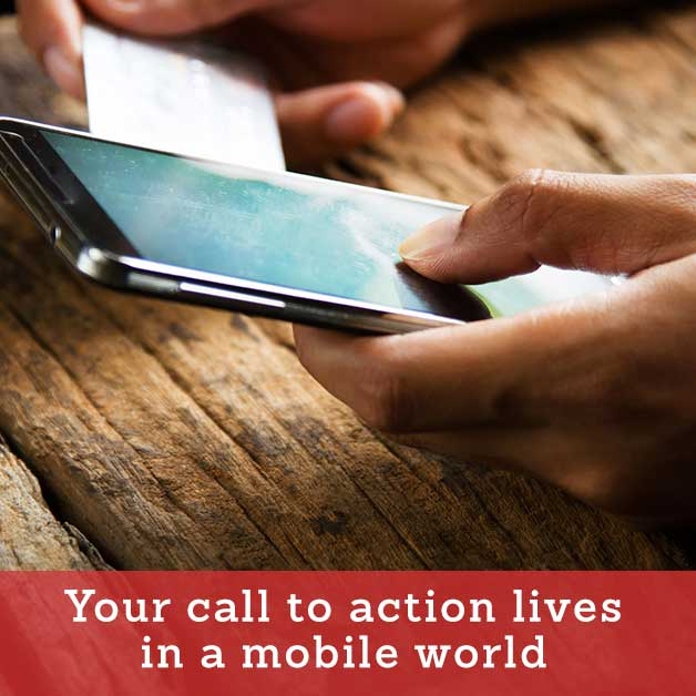 Mobile Video Call to Action