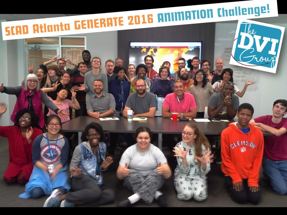 Generate 2016 Animation Challenge