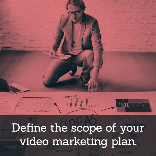 Video Marketing Strategy - Define the scope.
