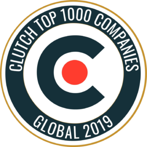 Clutch Top 1000 Companies - Global 2019