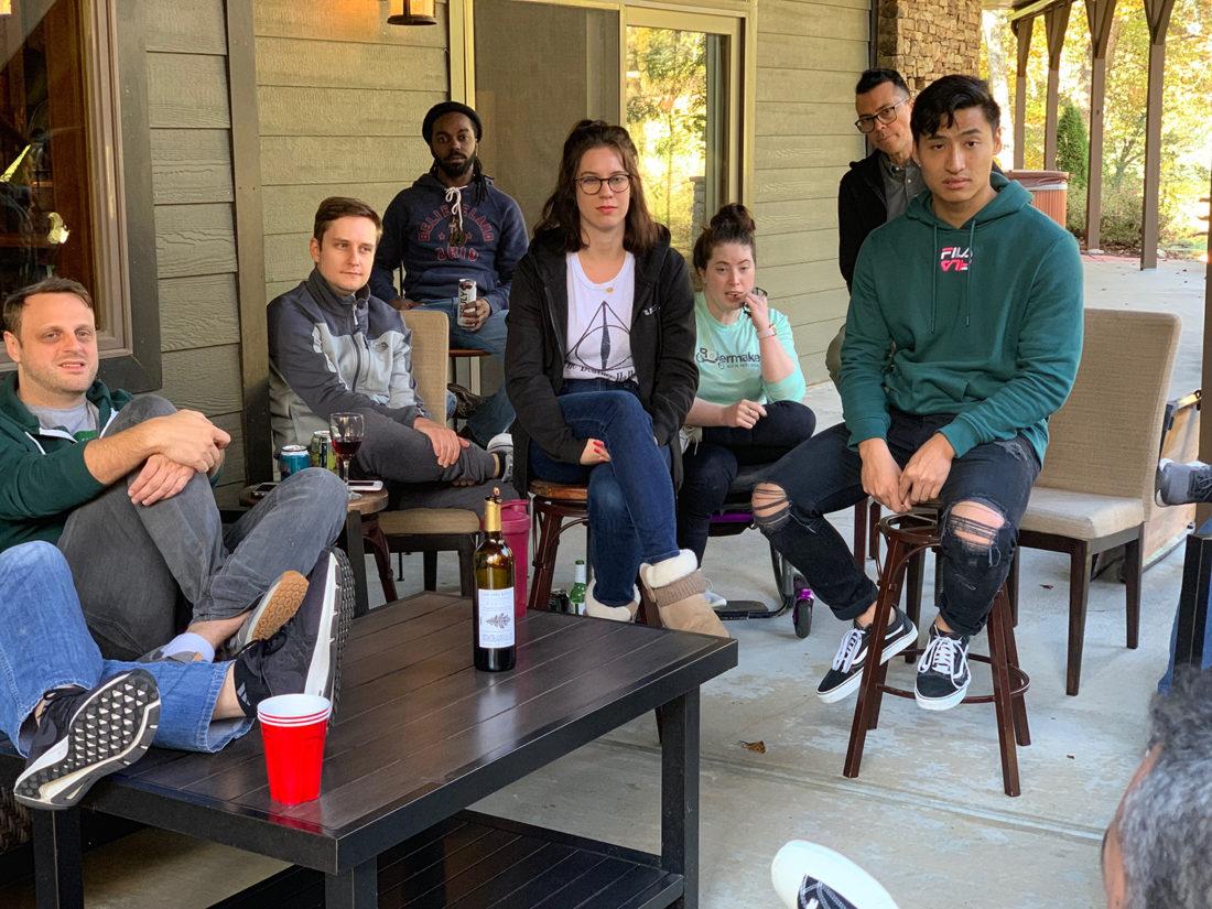 The DVI Group Team on Retreat