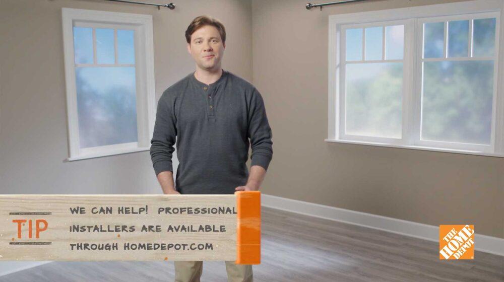 Home Depot - Laminate Installation
