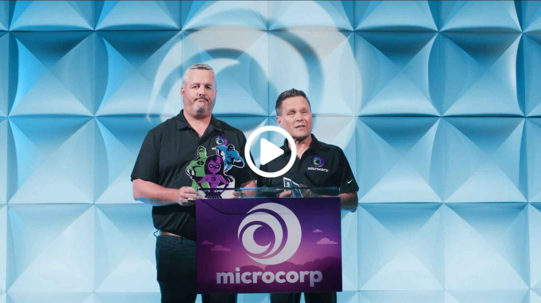 Microcorp Virtual Event Sizzle Reel