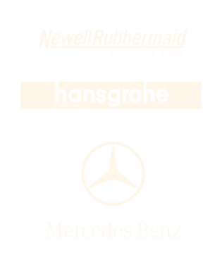 Newell-Rubbermade-Hansgrohe-Mercedes-Benz
