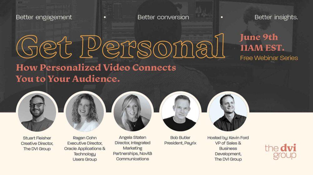 Personalized Video Webinar