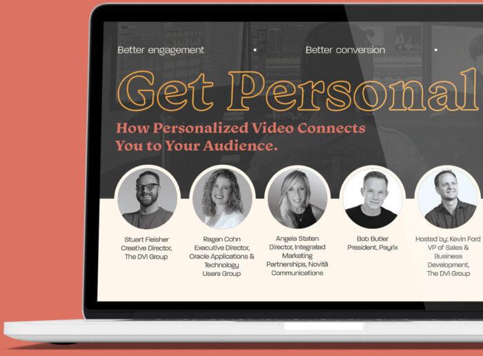 Free Webinar - Personalized Video