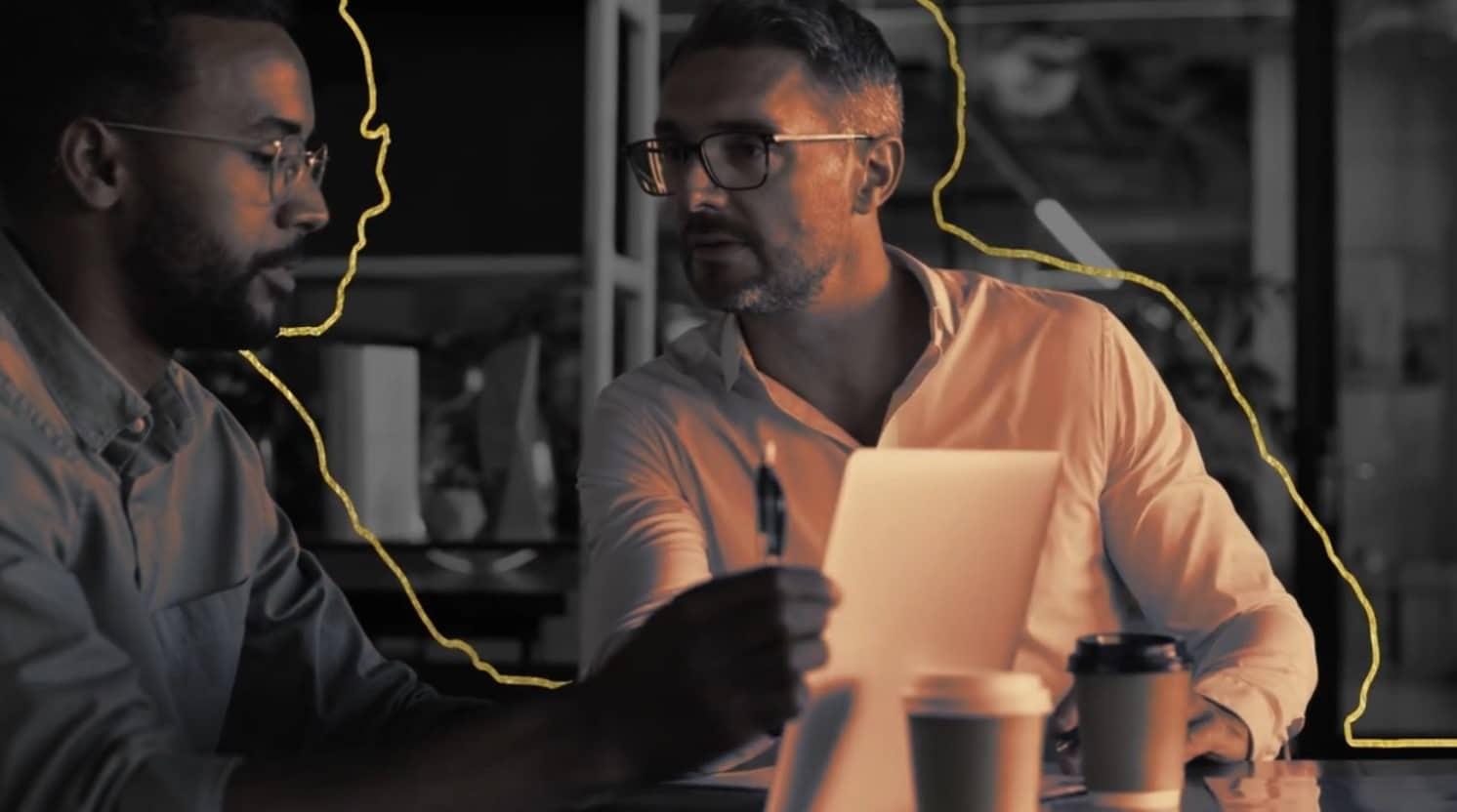 Sales People using Sales Enablement Platform
