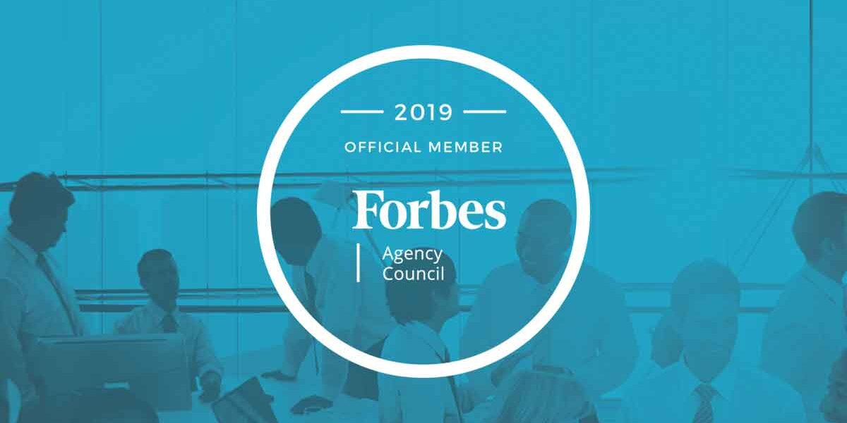 2019 Forbes Agency Council Member